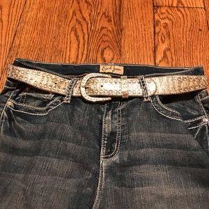 Buckle women's belt